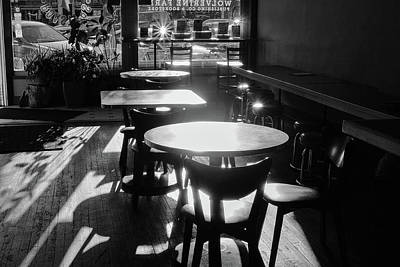 Photograph - Starbursts At The Coffeehouse by Monte Stevens