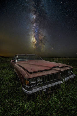 Photograph - Stardust And Rust - Pontiac by Aaron J Groen