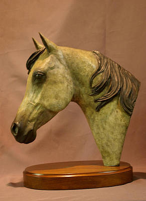 Bronze Horse Sculpture - Stardust by Kim Corpany