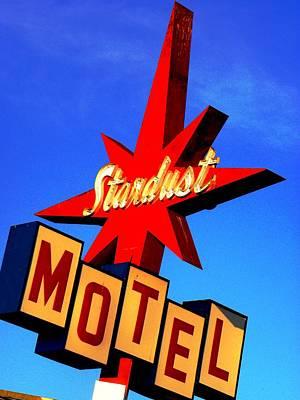 Stardust Motel Art Print