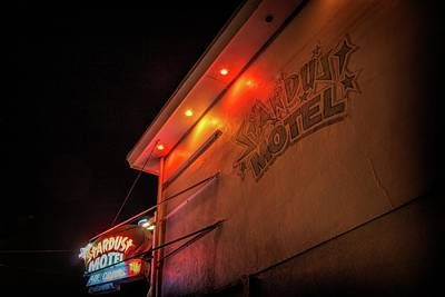 Photograph - Stardust Motel by Kristia Adams