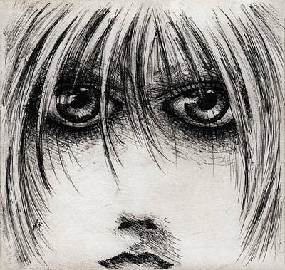 Stare At Me Art Print