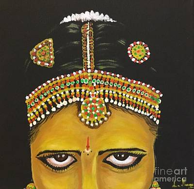 Painting - Stare by Brindha Naveen