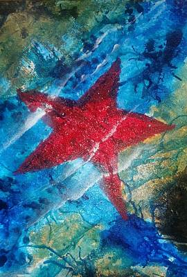 Painting - Starfish 2 by Judi Goodwin