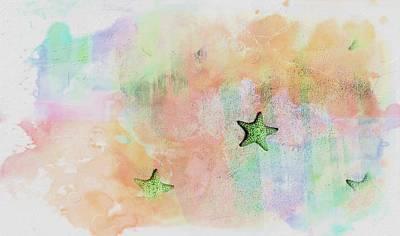 Photograph - Starfish- Etoile De Mer 15 by Jean Francois Gil