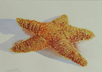Painting - Starfish by Judy Mercer