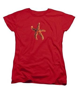 Fish Photograph - Starfish T-shirt by Zina Stromberg