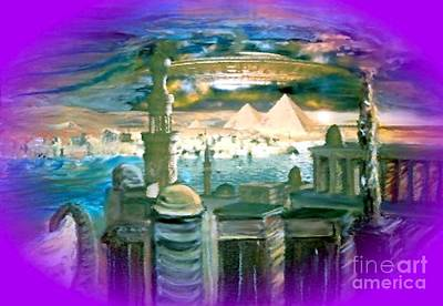 Painting - Stargate by Stanley Morganstein