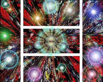 Constellation Digital Art - Stargate by Tim Allen