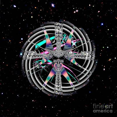 Photograph - Stargate Wormhole Physics by Renee Trenholm