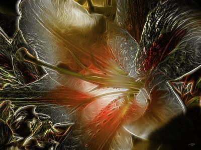 Digital Art - Stargazer Abstract 1 by Stuart Turnbull