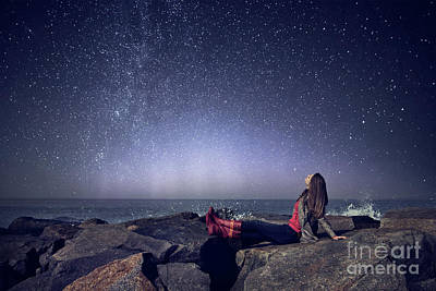 Stargazer Photograph - Stargazer by Evelina Kremsdorf