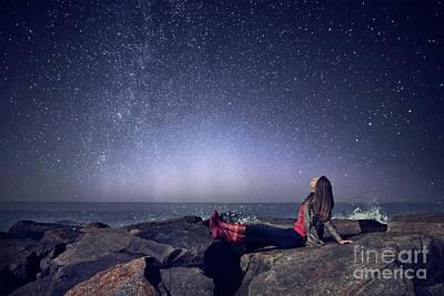 Photograph - Stargazer by Evelina Kremsdorf