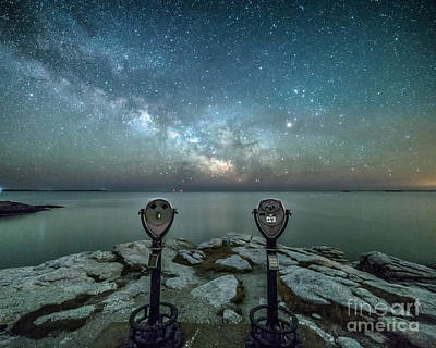 Mid-coast Maine Photograph - Stargazers by Benjamin Williamson