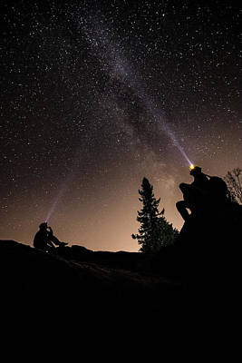 Current River Photograph - Stargazing At The Cascades With Dave by Jakub Sisak