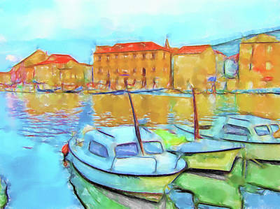 Lucent Dreaming Painting - Stari Grad Vi by Nick Arte