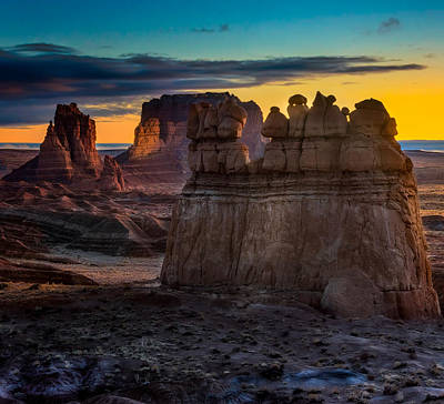 Goblin Valley State Park Photograph - Eyes Of The Goblin by Dave Koch