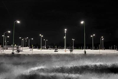 Photograph - Stark Contrast by SC Heffner