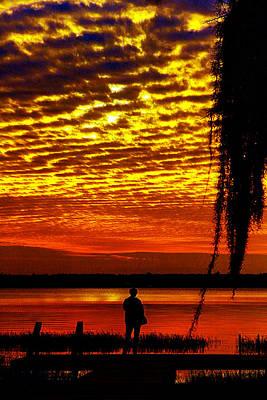 Photograph - Starke Sunset by Jeff Kurtz