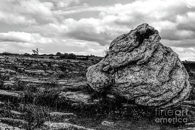 Photograph - Starkness Of The Burren by Elvis Vaughn
