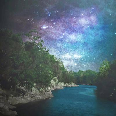 Starlight Serenity Art Print