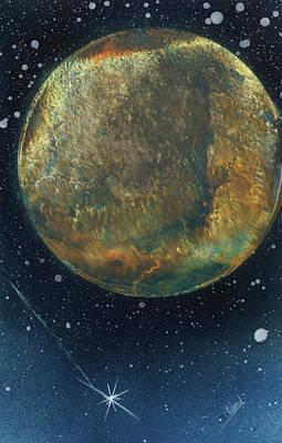Painting - Starlight Star Bright by Jason Girard