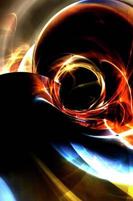 Digital Art - Starlight Traveller by Richard Thomas