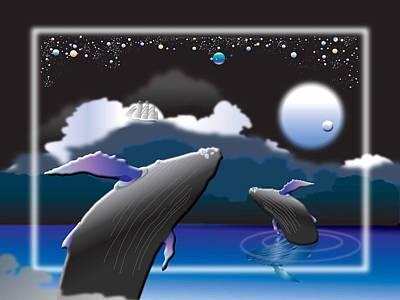 Wall Art - Digital Art - Starlight Waltz by Jack Potter
