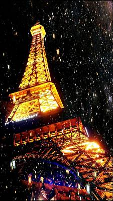 Photograph - Starlit Paris Skies by Marisela Mungia