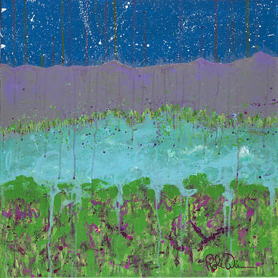 Painting - Starlit by Robin Winningham