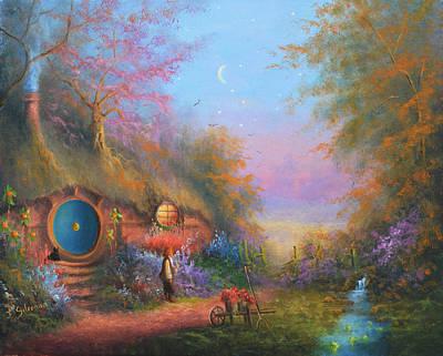 Painting - Bilbo Baggins by Joe Gilronan