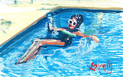 Starr Floating Art Print