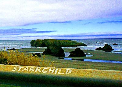 Starrchild Art Print
