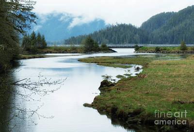 Photograph - Starrigavan Estuary Sitka Alaska by Loriannah Hespe