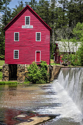 Photograph - Starr's Mill 1 by Randy Bayne