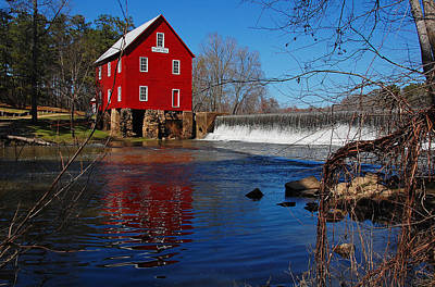 Starrs Mill Photograph - Starr's Mill by Ben Prepelka