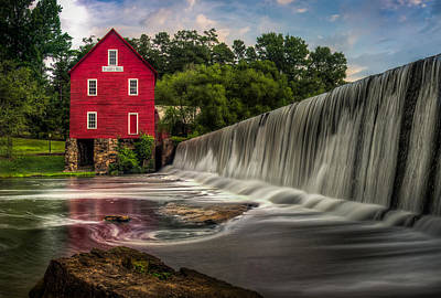Starrs Mill Photograph - Starr's Mill by Frank Vazquez