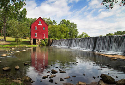 Photograph - Starr's Mill by Sally Simon