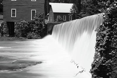 Photograph - Starr's Mill Waterfall by Chris Fraser