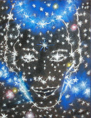 Starry Eyed 2 Art Print