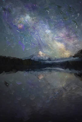 Painting - Starry Night by Angela A Stanton