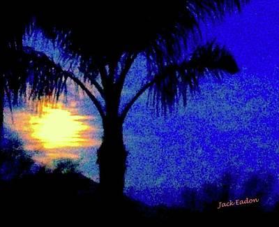 Starry Night At Casapaz Art Print by Jack Eadon