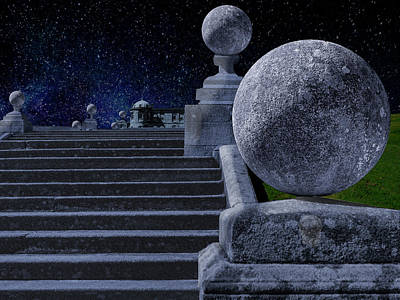 Photograph - Starry Night At Powerscourt by Paul Wear