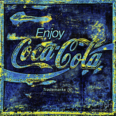 Photograph - Starry Night Coca Cola by John Stephens