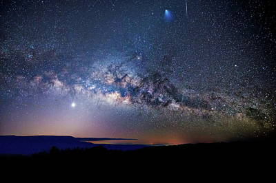 Photograph - Starry Night Georgian Bay by Andrea Kollo