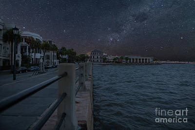 Photograph - Starry Night In Charleston by Dale Powell
