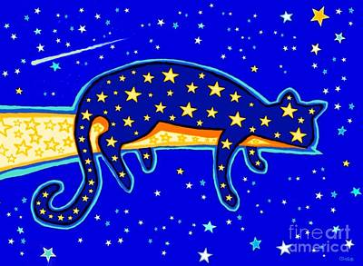 Digital Art - Starry Night by Nick Gustafson