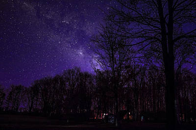 Photograph - Starry Night by Ron Grafe