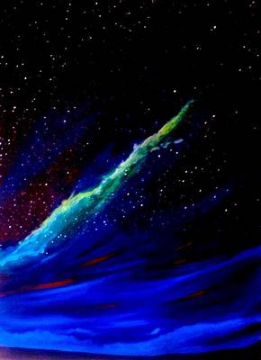 Painting - Starry Night by Scott Wilmot