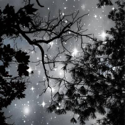 Steampunk Photos - Starry Night Sky by Marianna Mills